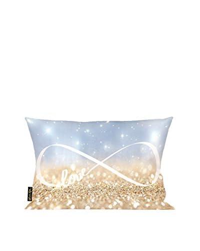 Oliver Gal Infinite Love Sign Lumbar Pillow, Multi