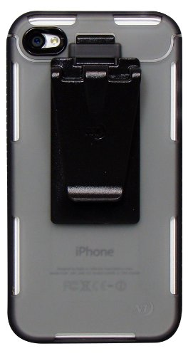 Nite Ize Cnt-Ip4-06Ct Connect Case For Iphone 4/4S - 1 Pack - Retail Packaging - Grey Translucent