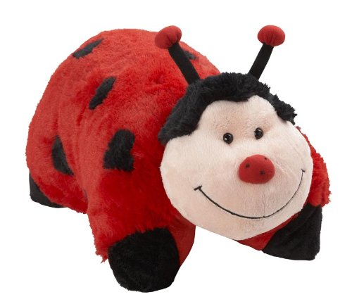 "My Pillow Pets Miss Lady Bug 11"" - 1"