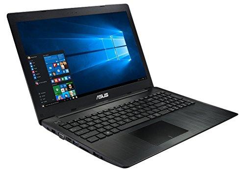 Asus x553sa xx166t 156 inch notebook intel n3050 160 ghz 4 gb ram 1 tb hdd windows 10 black