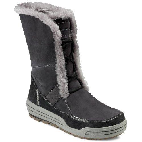 Ecco, Stivali da neve donna, Grigio (grigio), 38