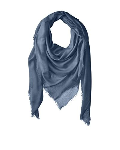 Chan Luu Women's Oversized Cashmere and Modal Scarf, Flint Stone