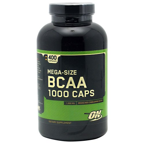 Optimum Nutrition 400 BCAA 1000 (400 Capsules) (On 1000 Cap Bcaa compare prices)