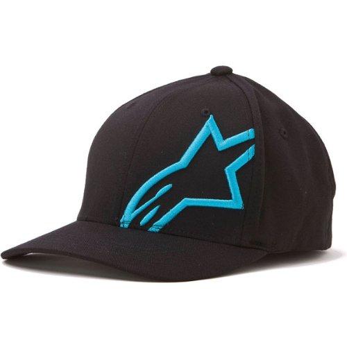 Alpinestars Flexfit Hats Hat Corp Shft 2 Bk/bl S/m 1032810081072sm