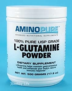 AMINOPURE L-glutamine Powder 500g