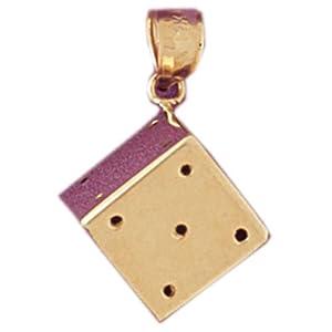 CleverEve's 14k Gold Charm Vegas Inspired 3.7 - Gram(s)