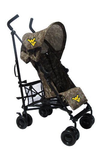 West Virginia University Camouflage Umbrella Stroller front-996825