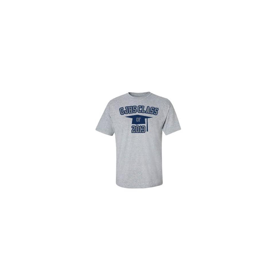 Class Of 2014 Cap Unisex Basic Gildan Cotton Crewneck T Shirt