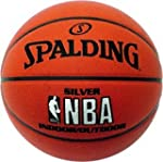 Spalding Basketball NBA Silver In/Out