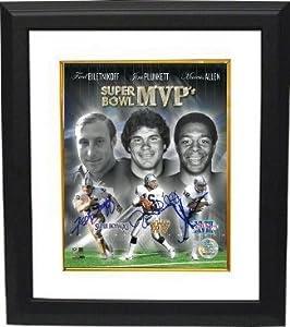 Jim Plunkett Autographed Hand Signed Oakland Raiders Super Bowl MVP