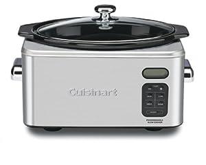Cuisinart PSC-650 Stainless Steel 6-1/2-Quart Programmable Slow Cooker