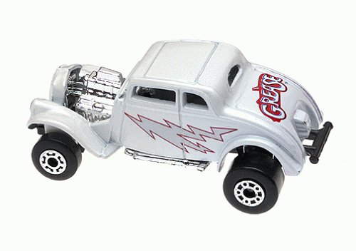 Matchbox 97 Star Car Collection Series 1 Grease - Greased Lightning Hot Rod - 1