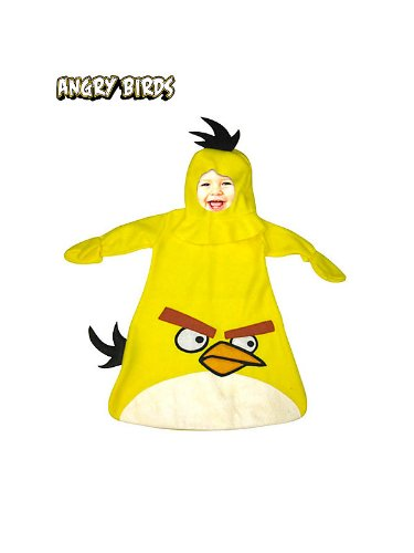 Infant Angry Birds Yellow Bird Bunting Costume