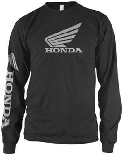 Honda Collection Wing Long Sleeve T-Shirt - Large/Black