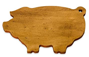 pig cutting board pattern