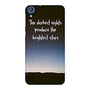 Brightest Star Multicolor Back Case Cover for HTC Desire 820s