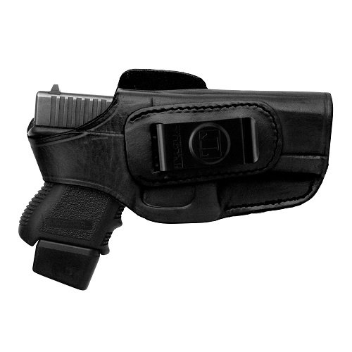 Tagua 4-in-1 Holster with Snap for Glock 42, Black/Brown, Right