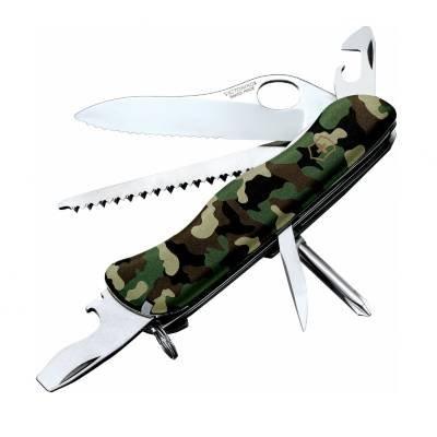 Victorinox 54877 One Hand Trekker Swiss Army Knife - Camo