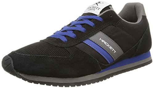 HACKETT LONDON - Street Sneaker,  pack, Scarpe da uomo, blu (dvblk/blue), 40