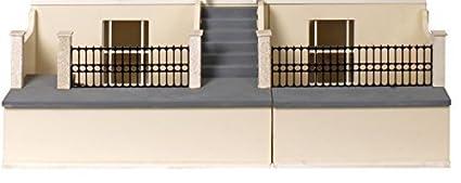 Maison de poupées plat paquet MDF bois sous-sol Kit pour PAYS Cottage MJ15