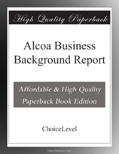 alcoa-business-background-report