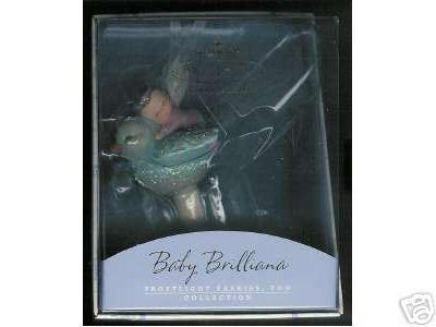 2002 Hallmark Ornament Frostlight Faeries Baby Brilliana