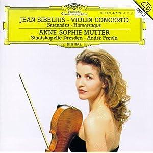 Sibelius, Jean -  Violin Concerto, Serenades,Humoresque, Anne-Sophie Mutter