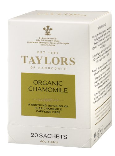 Taylors of Harrogate Organic Chamomile Infusion, 20 Count Sachet