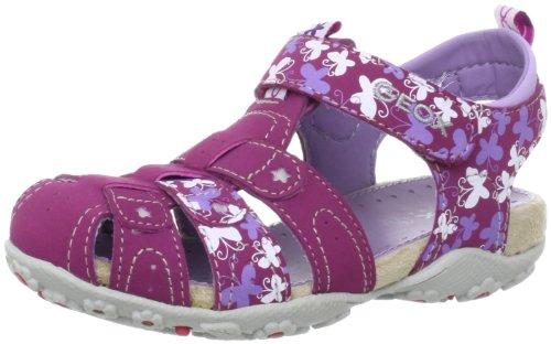 Geox B SAND.ROXANNE R Sandals Girls Purple Violett (FUCHSIA) Size: 8 (25 EU)