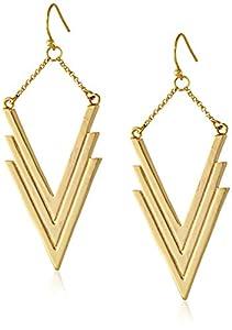 Vince Camuto V Drop Earrings