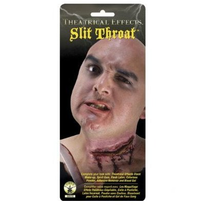 Rubie's Costume Co Theat Effect-Slit Throat Costume