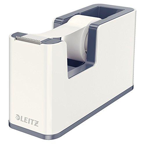 Leitz-53641001-Klebeband-Tischabroller-Zweifarbigem-Wow-Effekt-in-Hochglanz-Modernes-zeitgemes-Design