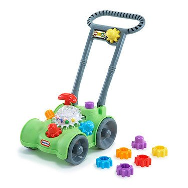 Little Tikes Giggly Gears Move 'N' Mow Playset - 1