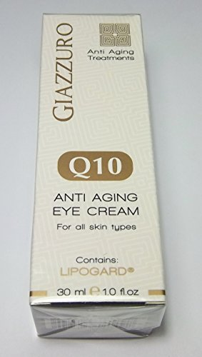 Giazzuro Q10 Anti Aging Eye Cream for All Skin Types 1.0 fl oz