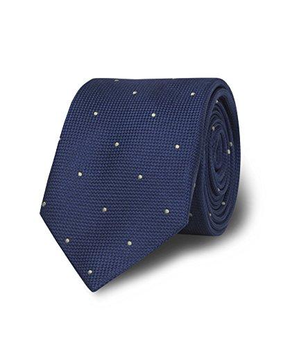 cravatta-con-design-a-pois-con-superficie-tmlewin-scarsezza-blu-marino-kaki-brilliant