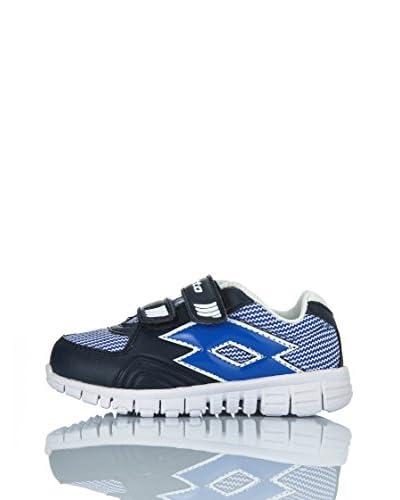 Lotto Sneaker Sunrise Inf [Blu Navy/Bianco]