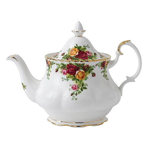 Royal Albert Old Country Roses Teapot (Country Teapot compare prices)