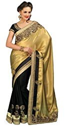 Chirag Sarees Faux Crepe Multi-Colour Divaa Saree
