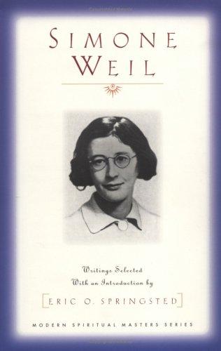 Simone Weil (Modern Spiritual Masters Series)