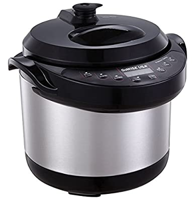 GoWISE USA GW22614 6-in-1 Electric Programmable Pressure Cooker/Slow Cooker/Steamer 3QT Capacity from GoWISE USA