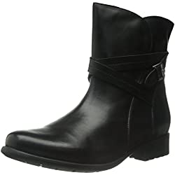 Clarks Plaza Square Women's Boot - Black Leather