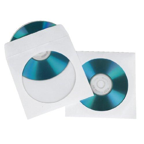 hama-49995-sobres-para-disco-opticos-100-unidades-color-blanco