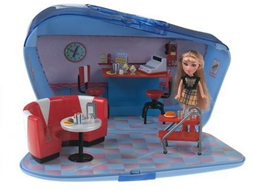 Lil Bratz Lifestyle Diner with Nazalia Doll - Buy Lil Bratz Lifestyle Diner with Nazalia Doll - Purchase Lil Bratz Lifestyle Diner with Nazalia Doll (MGA Entertainment, Toys & Games,Categories,Dolls,Playsets,Fashion Doll Playsets)