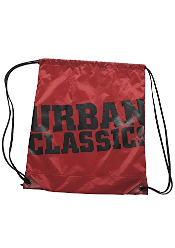Urban Classics UC Gym Bag, Color:red/blk;Größe:one size