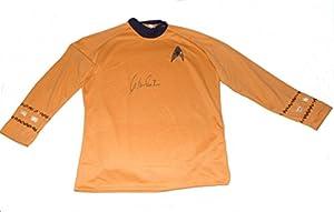 William Shatner Signed Star Trek Captain James T. Kirk Uniform Shirt Top Jsa Coa
