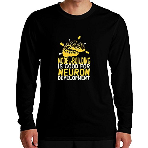 Idakoos - Model Building is good for neuron development - Hobbies - Long Sleeve T-Shirt (Neurons Model compare prices)