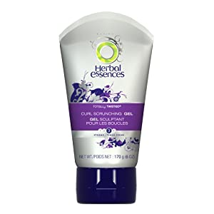 Herbal Essences Totally Twisted Curl Scrunching Hair Gel 6 Oz (Pack of 4)