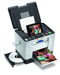 Epson PictureMate Zoom (PM290) Photo Lab Printer (Silver)
