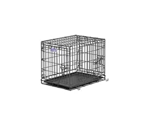 Midwest Select Triple-Door Dog Crate, 24 Inches by 18 Inches by 19 Inches