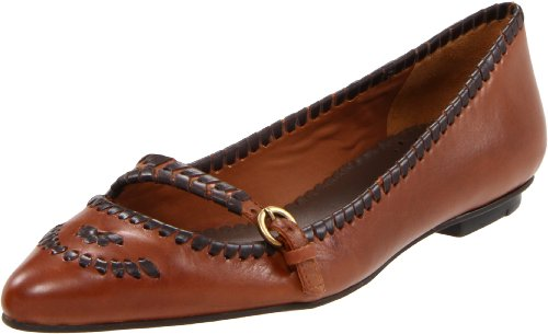 Jack Rogers Women's Neely Flat,Whiskey,10 M US
